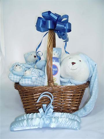 Bears for Baby boy Hamper Baby boy featured it can be for a girl