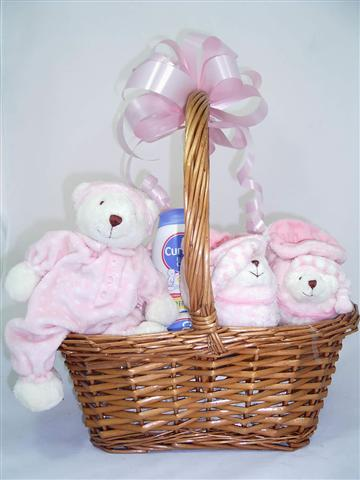 Bears for Baby Girl Hamper