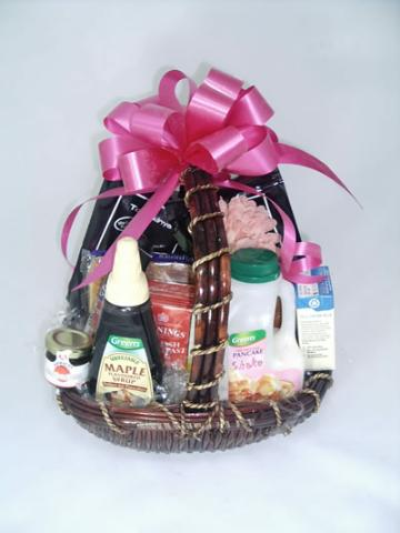Breakfast Basket for Mothers Day