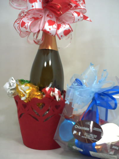 Bubbly and chocolates