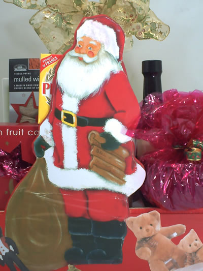Christmas Santa Hamper